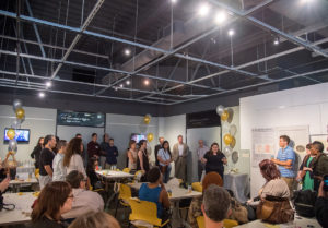A unique co-learning space will encourage students to share the work they are doing in Detroit with one another.