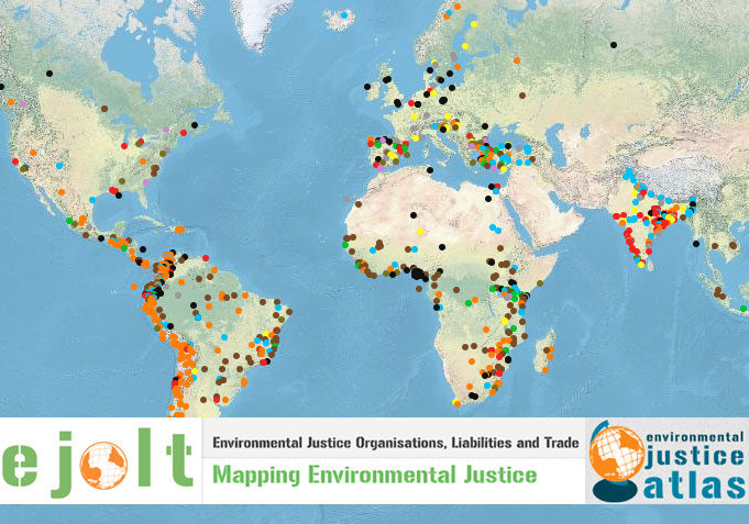 Top ecological conflicts identified mapped engaged michigan historycompiled by students at the university of michiganhas been added to a new global atlas of environmental justice an interactive online map gumiabroncs Gallery